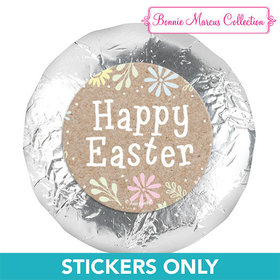"Bonnie Marcus Collection Easter Pastel Flowers 1.25"" Stickers (48 Stickers)"