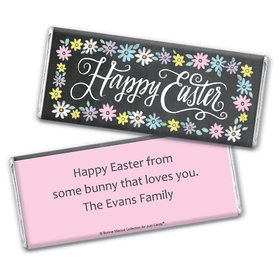 Bonnie Marcus Collection Happy Easter Script Chocolate Bar Wrappers