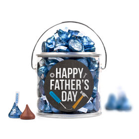 Bonnie Marcus Collection Father's Day Tools Silver Paint Can with Sticker
