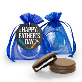 Bonnie Marcus Father's Day Tools Milk Chocolate Covered Oreo in Organza Bags with Gift Tag