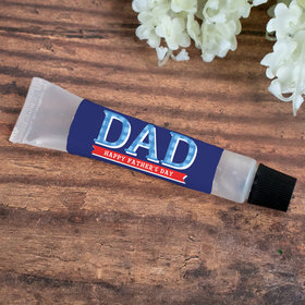 Hand Sanitizer Tube Personalized Father's Day Plaid 0.5 fl. oz.