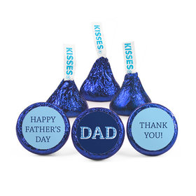 Bonnie Marcus Father's Day Plaid Dad Hershey's Kisses (50 pack)