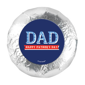 "Bonnie Marcus Collection Father's Day Plaid 1.25"" Stickers (48 Stickers)"