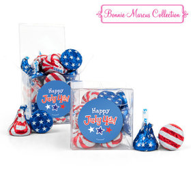 Bonnie Marcus Collection Independence Day Fireworks Clear Gift Box