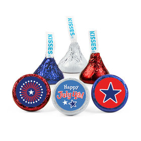 Bonnie Marcus Independence Day Fireworks Hershey's Kisses (50 Pack)