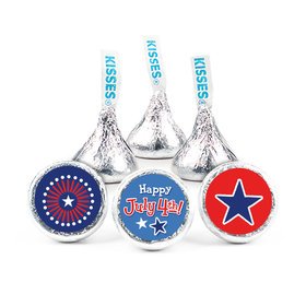 "Bonnie Marcus Independence Day Fireworks 3/4"" Sticker (108 Stickers)"