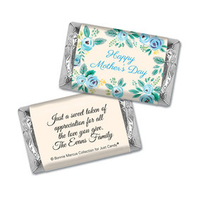 Bonnie Marcus Collection Mini Candy Bar Wrapper Here's Something Blue Mother's Day Favors