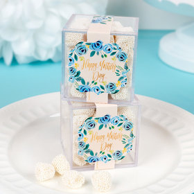 Personalized Mother's Day JUST CANDY® favor cube with Jelly Belly Gumdrops