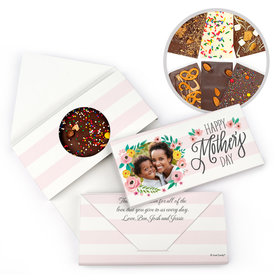 Personalized Bonnie Marcus Mother's Day Photo Gourmet Infused Belgian Chocolate Bars (3.5oz)