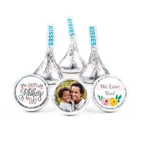 """Personalized Bonnie Marcus Mother's Day Floral Personalized Photo 3/4"""" Stickers (108 Stickers)"""