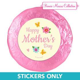 """Bonnie Marcus Collection Mother's Day Spring Flowers 1.25"""" Stickers (48 Stickers)"""