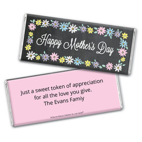 Personalized Bonnie Marcus Collection Mother's Day Script Chocolate Bar Wrappers