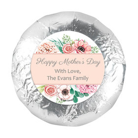 """Bonnie Marcus Collection Mother's Day Painted Flowers 1.25"""" Stickers (48 Stickers)"""