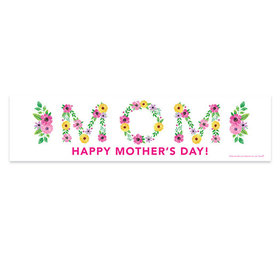 Personalized Bonnie Marcus Mother's Day 5 Ft. Banner