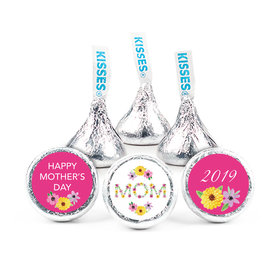 """Personalized Bonnie Marcus Mother's Day Mom in Flowers 3/4"""" Stickers (108 Stickers)"""