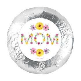 Bonnie Marcus Mother's Day Mom in Flowers 1.25in Stickers (48 Stickers)