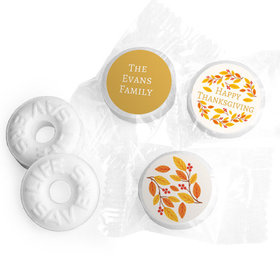 Personalized Bonnie Marcus Thanksgiving Giving Thanks Life Savers Mints