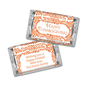 Personalized Bonnie Marcus Thanksgiving Leaves Mini Wrappers Only