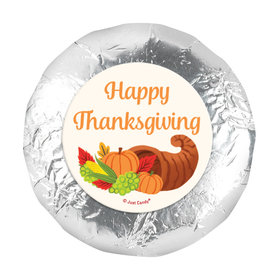 "Bonnie Marcus Thanksgiving Cornucopia 1.25"" Stickers (48 Stickers)"