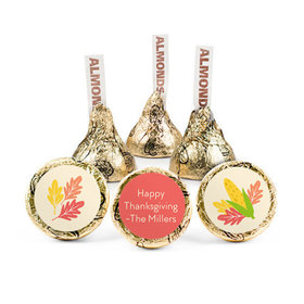 Personalized Bonnie Marcus Thanksgiving Happy Harvest Hershey's Kisses (50 pack)