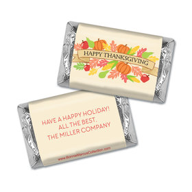 Personalized Bonnie Marcus Thanksgiving Happy Harvest Mini Wrappers Only