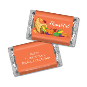Personalized Bonnie Marcus Thanksgiving Bountiful Thanks Mini Wrappers Only