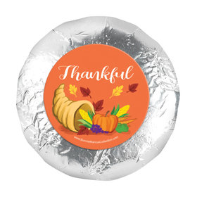 "Bonnie Marcus Thanksgiving Bountiful Thanks 1.25"" Stickers (48 Stickers)"