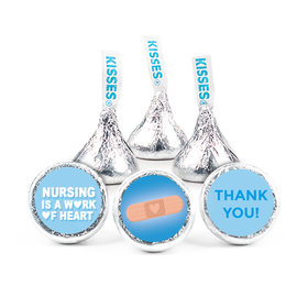 "Personalized Bonnie Marcus Collection Nurse Appreciation Hearts 3/4"" Sticker (108 Stickers)"