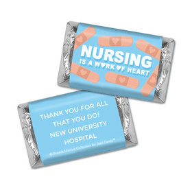 Personalized Bonnie Marcus Collection Nurse Appreciation Hearts Hershey's Miniatures