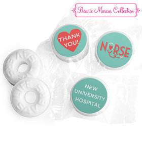 Personalized Bonnie Marcus Collection Nurse Appreciation Red Heart Life Savers Mints