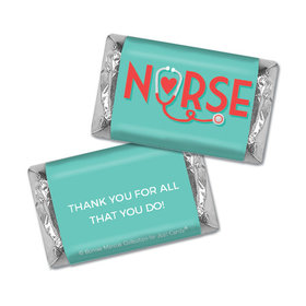 Bonnie Marcus Collection Nurse Appreciation Red Heart Hershey's Miniatures
