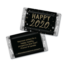 Personalized New Years Stars HERSHEY'S MINIATURE Wrappers
