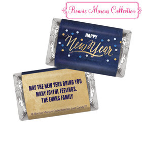 Personalized Midnight Celebration New Years HERSHEY'S MINIATURE bars