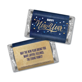 Personalized Midnight Celebration New Years Mini Wrappers Only
