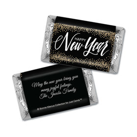 Personalized New Years Bubbles Mini Wrappers Only