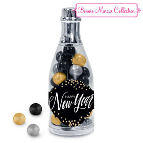 Bonnie Marcus New Year's Eve Champagne Bottle with Sixlets Candies (25Pack)