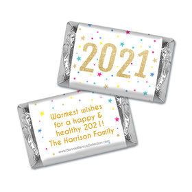 Personalized Bonnie Marcus Starry Celebration Mini Wrappers Only