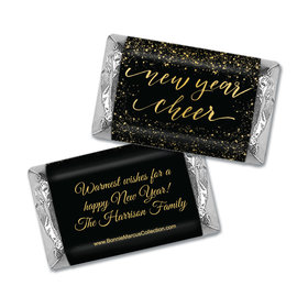 Personalized Bonnie Marcus New Year Cheer Mini Wrappers Only