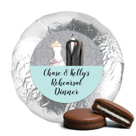 Bonnie Marcus Collection Rehearsal Dinner Forever Together Milk Chocolate Covered Oreo Cookies