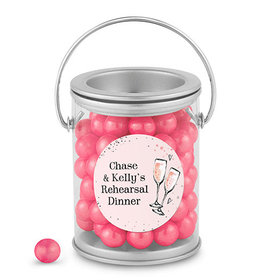 Bonnie Marcus Collection Personalized Paint Can The Bubbly Custom Rehearsal Dinner (25 Pack)