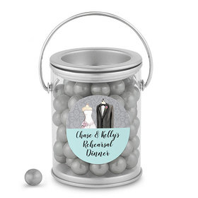 Bonnie Marcus Collection Personalized Paint Can Forever Together Rehearsal Dinner (25 Pack)