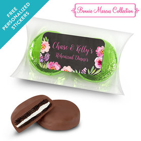 Bonnie Marcus Collection Personalized Pillow Box Floral Embrace Rehearsal Dinner Favors (25 Pack)