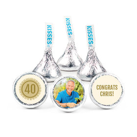 Personalized Bonnie Marcus Collection Retirement Certificate Assembled Hershey's Kisses (50 Pack)