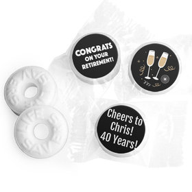 Personalized Bonnie Marcus Collection Retirement Cheers Life Savers Mints