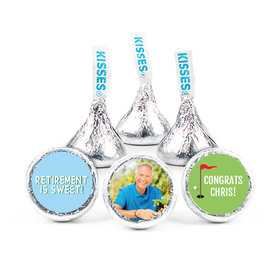 Personalized Bonnie Marcus Collection Retirement Gone Golfin' Assembled Hershey's Kisses (50 Pack)