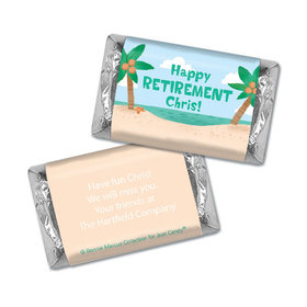 Personalized Bonnie Marcus Collection Retirement Beach Hershey's Miniatures