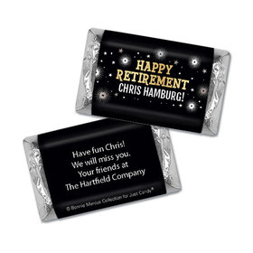 Personalized Bonnie Marcus Collection Retirement Fireworks Hershey's Miniatures