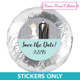 """Bonnie Marcus Collection Save the Date Forever Together 1.25"""" Stickers (48 Stickers)"""