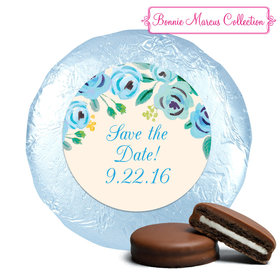Bonnie Marcus Collection Here's Something Blue Save the Date Milk Chocolate Covered Oreo Cookies