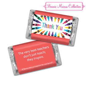 Bonnie Marcus Collection Teacher Appreciation Colorful Thank You Hershey's Miniatures